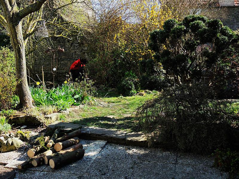 Entretien d'espaces verts au Pays Basque